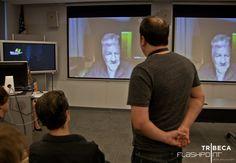 Director and Transcendental Meditation expert David Lynch Skypes with TFA students
