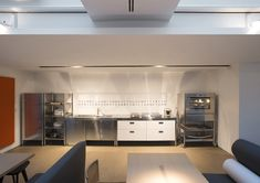 Alpes Inox COMBINED KITCHEN 190 @ Agape12 Showroom, Milan, Italy