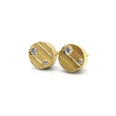 7a83e2c6a Earrings - Contemporary Jewellery by ORRO Glasgow - Modern Classic Gold  Platinum Silver Diamond Studs Earrings ORRO Contemporary Jewellery Glasgow  Scotland