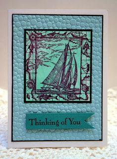 Nautical handmade card