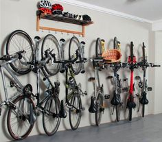 Invest in Vertical Bike Storage and Wall Mounted Shoe Rack                                                                                                                                                                                 More