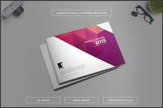 Multipurpose Landscape Brochure by Studio Designs on @creativemarket