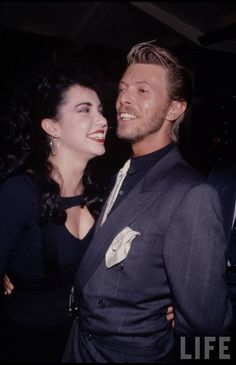 """bow-down-to-bowie: """" Melissa and David, 1989. """""""