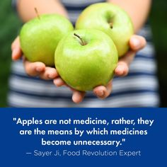 An Apple A Day Keeps the Doctor Away (Apple Health Benefits: Fighting Cancer, Brain Health, and More!) via @afoodrevolution