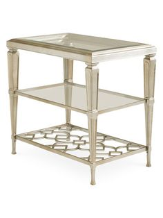Three Shelves Side Table by Caracole at Gilt