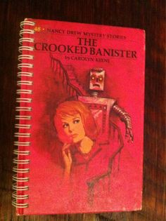 Nancy Drew's The Crooked Banister Blank Book by Merrittorious, $10.00