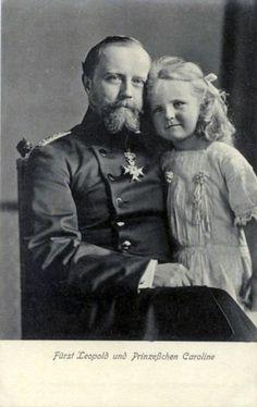 Leopold IV, Prince of Lippe and Princess Karoline of Lippe.