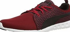 Puma Carson Runner Knit, Mens Training Running Shoes, Red (Scooter/Black), 9.5 UK (44 EU) Fashion shoes designed by the Puma brand to make your days as pleasant as possible. Their lightness and comfort will not fatigue your feet, you will feel at ease. Moreove (Barcode EAN = 4055263193729) http://www.comparestoreprices.co.uk/december-2016-week-1/puma-carson-runner-knit-mens-training-running-shoes-red-scooter-black--9-5-uk-44-eu-.asp