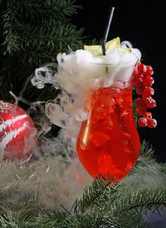 Christmas Cosmo Cocktail Recipe