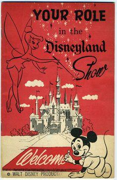 Disneyland New Employee Orientation Guide, Retro Disney, Vintage Disney Posters, Disney Movie Posters, Vintage Disneyland, Old Disney, Disney Films, Disney Love, Disney Art, Disney Pixar