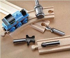 MLCS Train Track Bit Set (4 piece) - Amazon.com