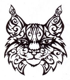 Tribal Lynx by Xanadra on DeviantArt
