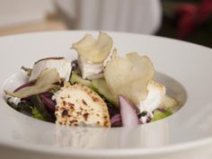 Goat cheese sallad from our summer menu.