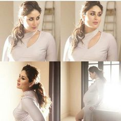 Kareena Kapoor unseen Super Sexy Stills From 2003 Film Chameli - Kapoor Cleavage Neck Designs For Suits, Sleeves Designs For Dresses, Neckline Designs, Fancy Blouse Designs, Blouse Neck Designs, Kurti Sleeves Design, Kurta Neck Design, Stylish Blouse Design, Stylish Dress Designs