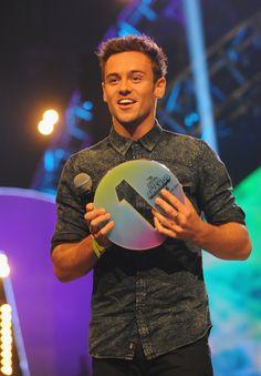 Tom Daley at the 2014 Radio 1 Teen Awards