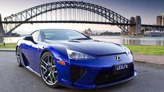Lexus LFA supercar Down Under