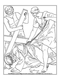 Luxury Coloring Pages Of Jesus On The Cross 45 Ninth Station of the