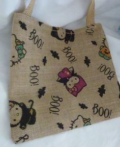 SOLD SOLD I just listed Halloween Handmade Large And Small Treat Bags or Purses on The CraftStar @TheCraftStar #uniquegifts