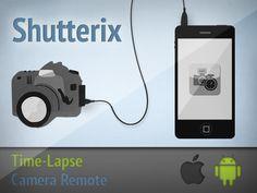Shutterix. The Ultimate Time-lapse Tool. by Ben Zhai + Swissmic, via Kickstarter.