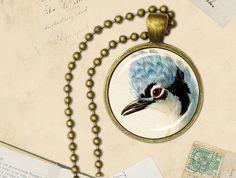 Blue bird pendant bluebird necklace bluebird jewellery