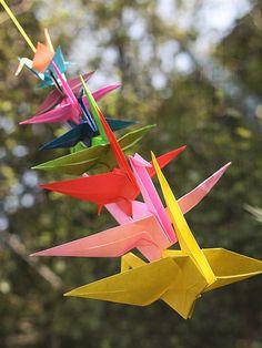 My paper crane flickr site