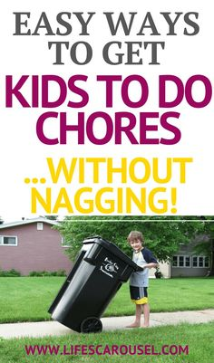 10 Ways to Get Kids to Do Chores - Easy tips and tricks to get your kids to do their chores. Get your kids to help around the house and teach them responsibility with these fast cleaning and chore tips. Planners, Chores For Kids By Age, Kid Chores, House Chores, Chore System, Baby Massage, Little Doll, Along The Way, Parenting Advice