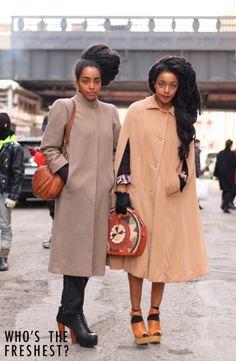 Street Style by Whosthefreshest - New York Fashion Week - AFROPUNK