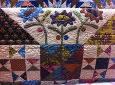 Another version of Kim Diehl's design of our challenge quilt