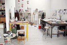 ShelterPop Story With Photos of Lotta Jansdotter Studio Tour | POPSUGAR Home