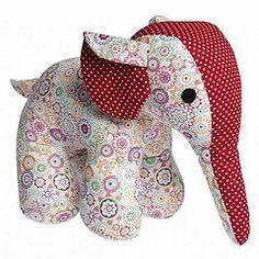 molde de elefante em tecido - Pesquisa Google