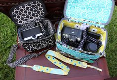Cool Camera Bags!  I love it!  I wish I cold just buy this bc I am not a sewer