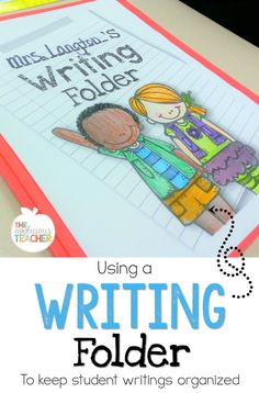 Using a  writing fol