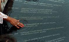 Civil Rights Memorial by Maya Lin