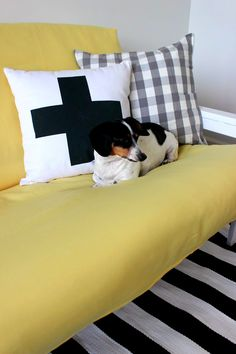 Futon Facelift: Restyling a Futon For Your Grown Up House