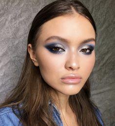 Gorgeous Makeup: Tips and Tricks With Eye Makeup and Eyeshadow – Makeup Design Ideas Dramatic Eye Makeup, Natural Eye Makeup, Eye Makeup Tips, Beauty Makeup, Rock Makeup, Ethereal Makeup, Hair Beauty, Beauty Dupes, Dramatic Eyes