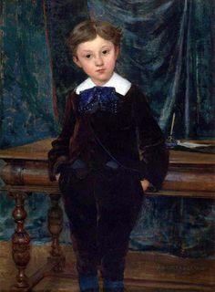 Little Lord, Jules Bastien-Lepage, 1890 Boy Illustration, Illustrations, Jr Art, Pre Raphaelite, Inspirational Artwork, Oil Painting Reproductions, Vintage Artwork, Figure Painting, Painting Art