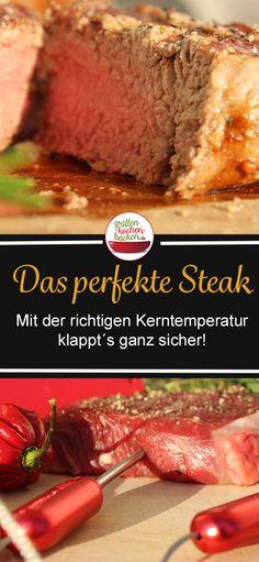 Rinder Steak, Desserts, Food, Tricks, Art, Beef Fillet Recipes, Foods With No Calories, Food Food, Perfect Steak