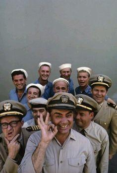 Ernest Borgine .Mchale's navy