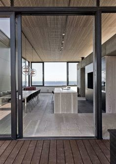Try These Useful Ideas For Home Improvement – Lastest Home Design Home Design, Interior Architecture, Interior And Exterior, Wooden Ceilings, Ceiling Design, Kitchen Design, Sweet Home, New Homes, House Ideas
