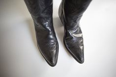 Your place to buy and sell all things handmade Mens Shoes Boots, Leather Boots, Men's Shoes, Shoe Boots, Black Cowboy Boots, Western Boots, Heeled Boots, Unisex, Heels