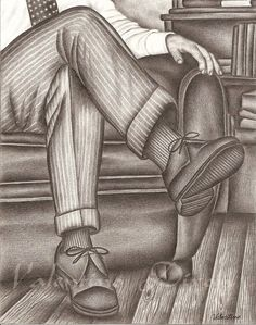 Class Man artwork drawing $99 -  $149 size preference click website