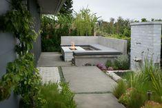 I love the concrete walkways