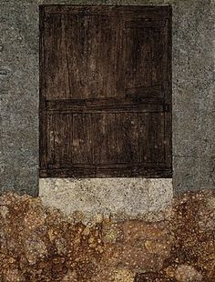 Jean Dubuffet, Door with Couch Grass, 1957