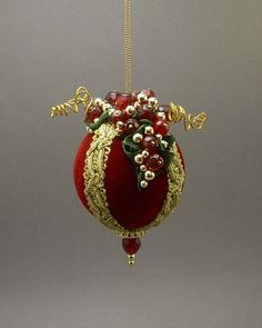 Lori Bilodeau Christmas Ornament  Handmade by ArtWorksforMusic, $38.00