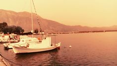 Kalamata Boat Harbour Sea