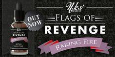 e-liquide NKV Flags of Revenge Raking Fire