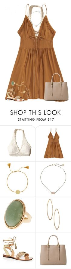 """""""Nothing's impossible, you're the god of miracles✨"""" by moseleym ❤ liked on Polyvore featuring Hollister Co., Anna + Nina, Kendra Scott, Lydell NYC, Jack Rogers and MANGO"""