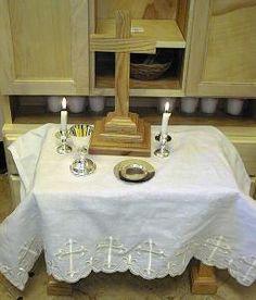 Catechesis of the Good Shepherd: Altar Good Shepard, The Good Shepherd, Catholic Altar, Godly Play, Catechist, Faith Hope Love, Spiritual Life, Sunday School, Montessori