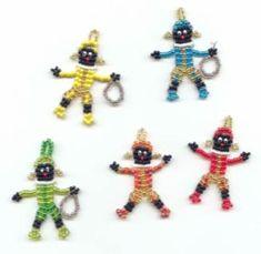 Kralen.com - Inspiratie wissel je uit bij kralen.com - Figuren Father Christmas, Winter Christmas, Christmas Ornaments, Kids Jewelry, Jewelry Making, Bead Crafts, Diy Crafts, Beaded Animals, Felt Dolls