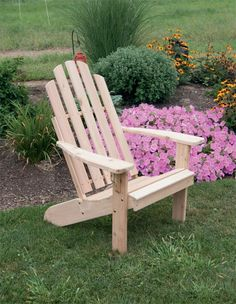 Build A Giant Adirondack Chair Furniture Pinterest